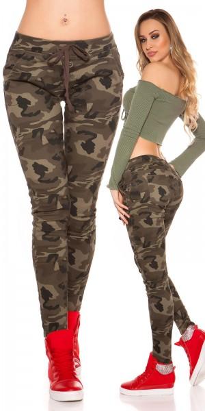 Trendy Camouflage JoggJeans