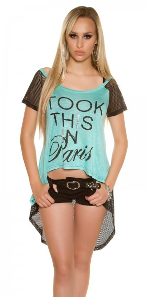 "Sexy KouCla HighLow Shirt ""Took this in Paris"""