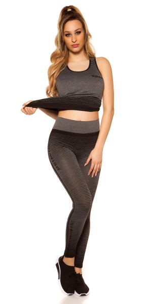 Trendy Workout Outfit Tanktop & Leggings