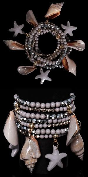 Trendy Beach-Look Armband