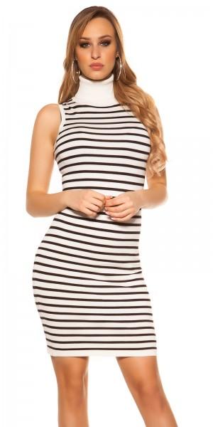 Trendy Koucla Kleid mit Rollkragen